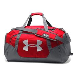 Under Armour Undeniable 3.0 Medium Duffle Bag, Red /Silver