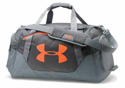 Under Armour Undeniable 3.0 Duffle Bag Gray Orange Storm Gym