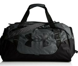 Under Armour Undeniable Duffle 3.0 Gym Bag, Black/Silver, Me