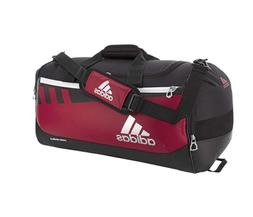 Adidas Unisex Team Issue Large Duffel Bag, Power Red/Black