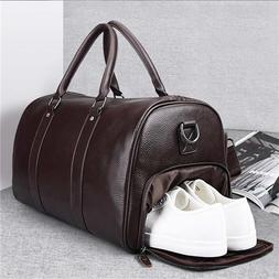 Unisex Travel <font><b>Bag</b></font> Women Men PU <font><b>