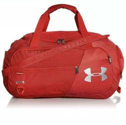 Unisex, Under Armour Undeniable Duffel 4.0 Gym Bag, RED, Sma