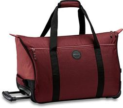 Dakine Women's Valise Roller Luggage Bag, Burnt Rose, 35 L
