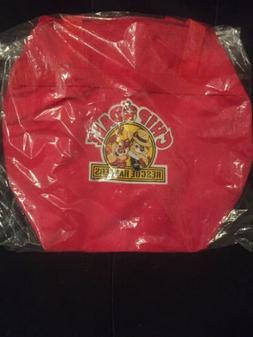 Vintage Disney Chip and Dale Rescue Rangers Duffel Bag New I
