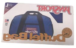 Vintage Factory Sealed Jansport Duffel Bag Size Large Blue D
