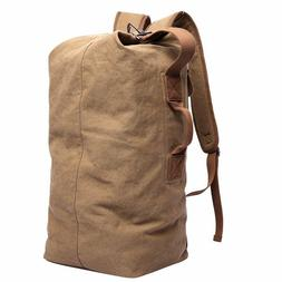 Vintage Large Canvas Men's Travel Luggage Shoulder Bag Tote