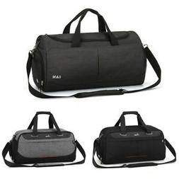 Waterproof Sports Gym Duffel Bag Tote Bag with Shoes Compart
