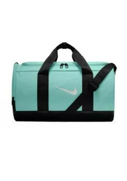 Women Nike Team Gym Duffel Bag/Travel-Weekender Teal Tint/Bl