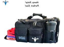 workout weight lifting duffle travel all sport