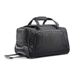 American Tourister Zoom 20 Wheeled Duffel, Black, New